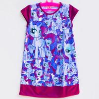 Daster Anak Katun Little Pony Mickey LOL Surprise Hello Kity 6-7 Tahun