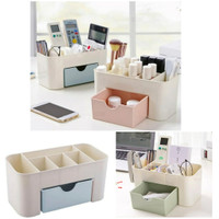 Make Up Storage Rak Tempat Organizer Kosmetik Desktop Meja Makeup
