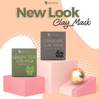 Charcoal Clay mask ms glow