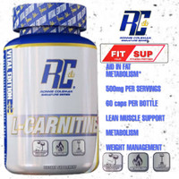 L CARNITINE XS 60 caps Lcarnitine RC fat burner pembakar lemak alami