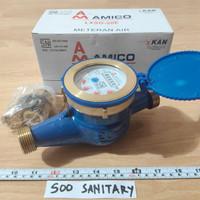 """Water Meter 3/4"""" Amico SNI Besi - Meteran air"""