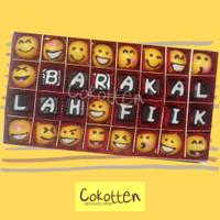 Cokelat Praline Ucapan Box isi 32 untuk kado ulang tahun dan perayaan