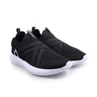 Sepatu running ortuseight SWIFT black white new 2020