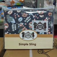 Gendongan Bayi Geos Petite Mimi Simple Sling Size XL Motif Riding Hood