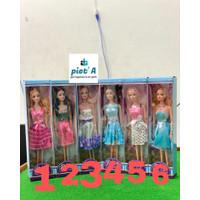 Mainan anak cewek boneka cantik dengan 6 pilihan gaya termurah bagus