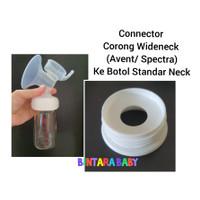 Connector Corong Pompa Asi Spectra / Avent / Cmbear ke Botol Standar