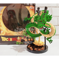 ACTION FIGURE PVC DRAGON BALL DRAGON HEROES SHEN LONG NAGA HIJAU