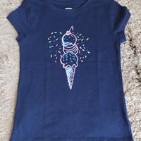 Baju kaos anak perempuan gap kids size m, l