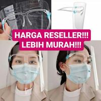 Face Shield Kacamata Protector Mask - Kacamata Pelindung Anti Virus