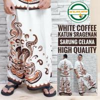 sarung celana kopi putih dewasa