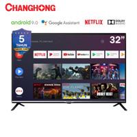 murah android smart tv 32 inch changhong certified