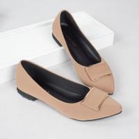 Guzzini FB 111 Moca - Sepatu Flat Wanita Casual