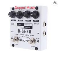 Efek gitar joyo D-SEED Dual Channel Digital Delay original
