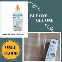 PROMO Aseptic Gel Onemed Pump 500ml FREE FACESHIELD PREMIUM