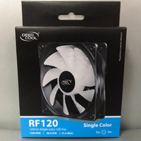 Fan Case 12 cm Deepcool RF120 LED Red or Blue Deep Cool RF 120 Fan