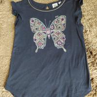 Baju kaos anak perempuan gap kids size xs (4-5T)