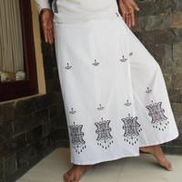 sarung celana pintu aceh putih polos