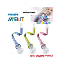 Philips Avent Clip Soother / Tali empeng avent