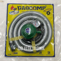 SELANG GAS PAKET REGULATOR GASCOMP GRT 924E