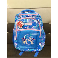 Smiggle Backpack Bag Far Pink Unicorn Biru Tas Ransel Anak Original