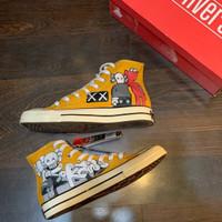 Sepatu Converse 70's Kaws Yellow