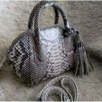 Tas Kulit Ular Wanita Murah Meriah - Given Original Phyton 🔥🔥