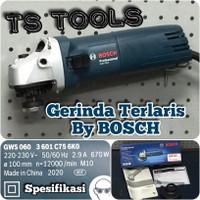 "Mesin Gerinda Bosch 4"" GWS 060 / Gerinda GWS060"