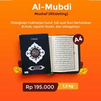 Alquran Al-Mubdi cover resleting uk Besar A4 Al-Quran Almubdi 15 baris