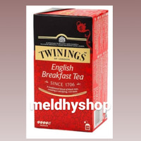 TWININGS ENGLISH BREAKFAST TEA 25pack