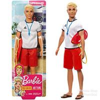 Boneka Barbie Mattel Ken Lifeguard Penjaga Pantai Blonde