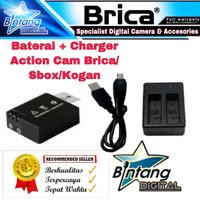 Baterai Charger Action Camera Bpro5 Sj4000 Kogan Sbox