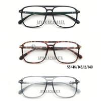 kacamata minus lensa anti radiasi retro Bjorn classic vintage