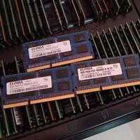 Ram laptop ddr3 4GB ELPIDA pc3 10600s 1333MHZ 1.5V