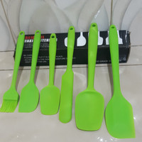 Silica Gel Baking Utensils Kitchen set 6pcs Serbaguna