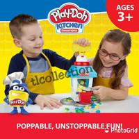 Sale!!Playdoh/play doh kitchen creation Popcorn Party!!Original Hasbro