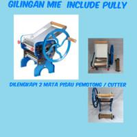 gilingan mie manual / noodle maker/ mesin cetak mie
