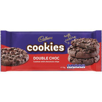 Cadbury Cookies Double Choco 156g