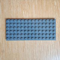 Lego Plate 6x14 dark bluish grey 3456