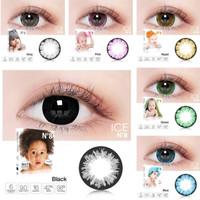 Softlens x2 ice n8 /softlens big eyes