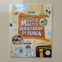 Komik Petualangan ke Masjid Masjid Bersejarah DiDunia Buku cerita anak