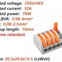 Wago 5pin connector kabel terminal blok CMK415