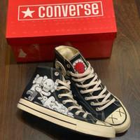 Sepatu Converse 70's Kaws Black