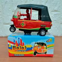 Mainan Anak Transportasi Bajaj Bump Go Musik dan Lampu