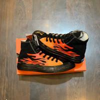 Sepatu Converse Flame Full Black
