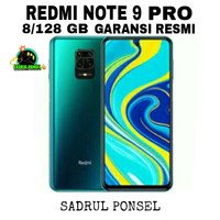 HP XIAOMI REDMI NOTE 9 PRO 8/128 GB-XIOMI MI NOT 9 PR0 RAM 8/128GB TAM