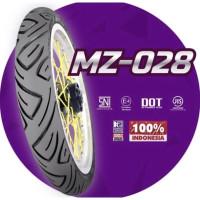 Ban Motor MIZZLE MZ 028 ( MZ028 ) 70/90-14 (Tubetype) Ban Luar Matic