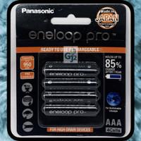 Baterai Charger Eneloop Pro AAA 950Mah - Batre Cas AAA Eneloop 950 Mah