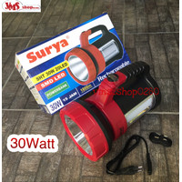 Senter Surya SHT 30W 20LED plus Lampu Emergency