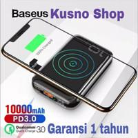 Baseus Wireless Fast Charging Power Bank QC 3.0+PD 18W 10.000MAH - Hitam