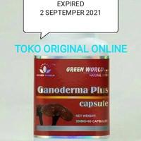 Ganoderma Plus Capsule Green World/Obat Kanker Asli 100%